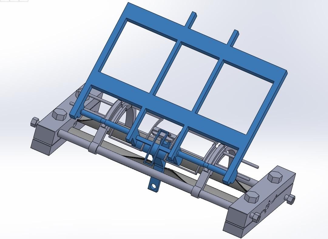 isometric view odf of fixed and mobile slots with mid plate cum seat bar - Copy (2).jpg