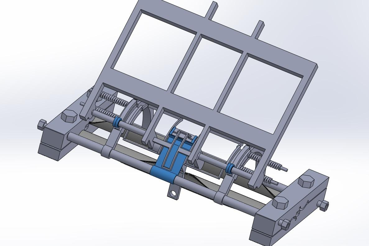isometric view of bearing and wegde holding platform with the assembly - Copy.jpg